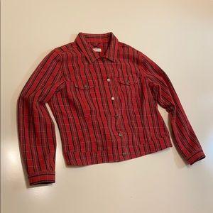 Gap plaid jacket